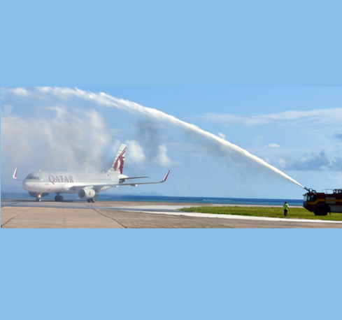 Seychelles Reconnects to Doha