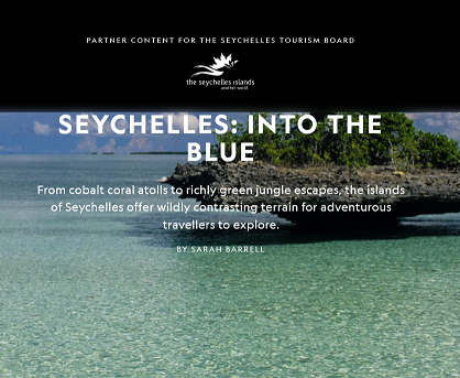 The Seychelles Islands embarks on adventure with National Geographic
